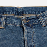 Мужские джинсы Carhartt WIP Bucaneer Revolt Grit Blue Washed фото- 2