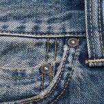 Мужские джинсы Carhartt WIP Bucaneer Revolt Grit Blue Washed фото- 4