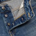 Мужские джинсы Carhartt WIP Bucaneer Revolt Grit Blue Washed фото- 5