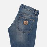 Мужские джинсы Carhartt WIP Bucaneer Revolt Grit Blue Washed фото- 1