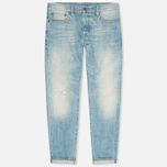 Мужские джинсы Carhartt WIP Kennedy Kasano Japanese Selvedge Blue Revolver Washed фото- 0