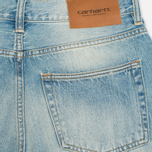 Мужские джинсы Carhartt WIP Kennedy Kasano Japanese Selvedge Blue Revolver Washed фото- 1