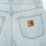 Мужские джинсы Carhartt WIP Klondike II Otero Blue Blast Washed фото- 1