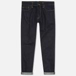 Мужские джинсы Carhartt WIP Klondike II Otero Blue Rinsed фото- 0