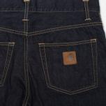Мужские джинсы Carhartt WIP Klondike II Otero Blue Rinsed фото- 1