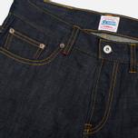 Denim Demon Aahka Men's Jeans Raw Blue photo- 3