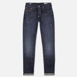 Мужские джинсы Evisu 2017 Carrot Fit Japanese Selvedge Jeans Ecru фото- 0