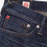 Мужские джинсы Evisu 2017 Carrot Fit Japanese Selvedge Jeans Ecru фото- 3
