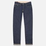 Мужские джинсы Evisu 2017 Carrot Fit Storm Wash Jeans Ecru фото- 0