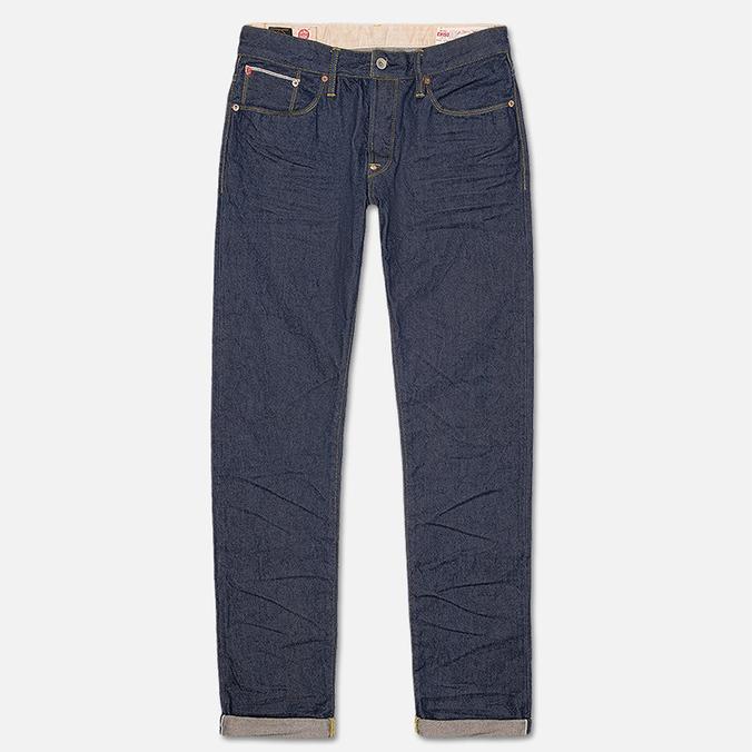 Evisu 2017 Carrot Fit Storm Wash Men's Jeans Ecru