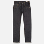 Мужские джинсы Evisu 2020 Slim Fit Raw Jeans Ecru фото- 0