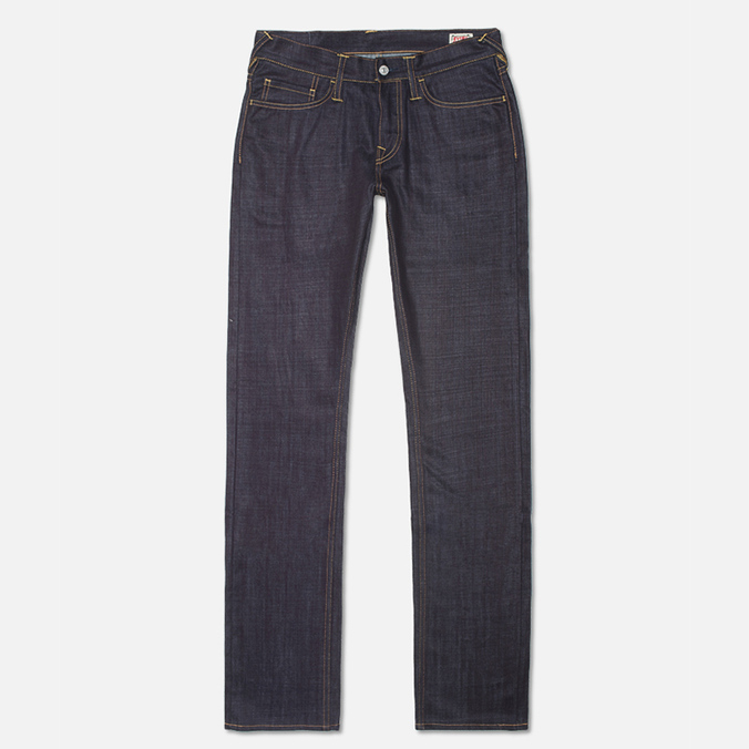 Мужские джинсы Evisu Genes 2008 Regular Fit Raw Jeans