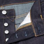 Мужские джинсы Evisu Genes 2008 Regular Fit Raw Jeans фото- 4