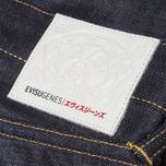 Мужские джинсы Evisu Genes 2008 Regular Fit Raw Jeans фото- 3