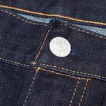 Мужские джинсы Evisu 2017 Carrot Fit Rinse Jeans Indigo/Red фото- 2
