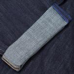 Мужские джинсы Evisu 2017 Carrot Fit Rinse Jeans Indigo/Red фото- 5