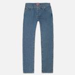 Мужские джинсы Lacoste Live Slim Fit Blue фото- 0