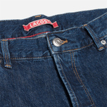 Мужские джинсы Lacoste Live Slim Fit Dark Blue фото- 2