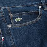 Мужские джинсы Lacoste Live Slim Fit Dark Blue фото- 3