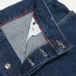 Мужские джинсы Lacoste Live Slim Fit Dark Blue фото- 4