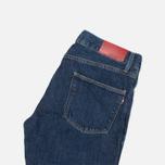 Мужские джинсы Lacoste Live Slim Fit Dark Blue фото- 1