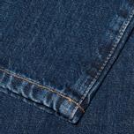 Мужские джинсы Lacoste Live Slim Fit Dark Blue фото- 5
