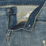 Женские джинсы Carhartt WIP W' Cropped Galena Stretch Blue Fray Washed фото- 2