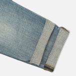 Женские джинсы Carhartt WIP W' Cropped Galena Stretch Blue Fray Washed фото- 5