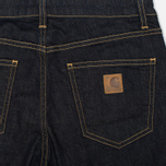 Женские джинсы Carhartt WIP W' Cropped Galena Stretch Blue Rinsed фото- 1