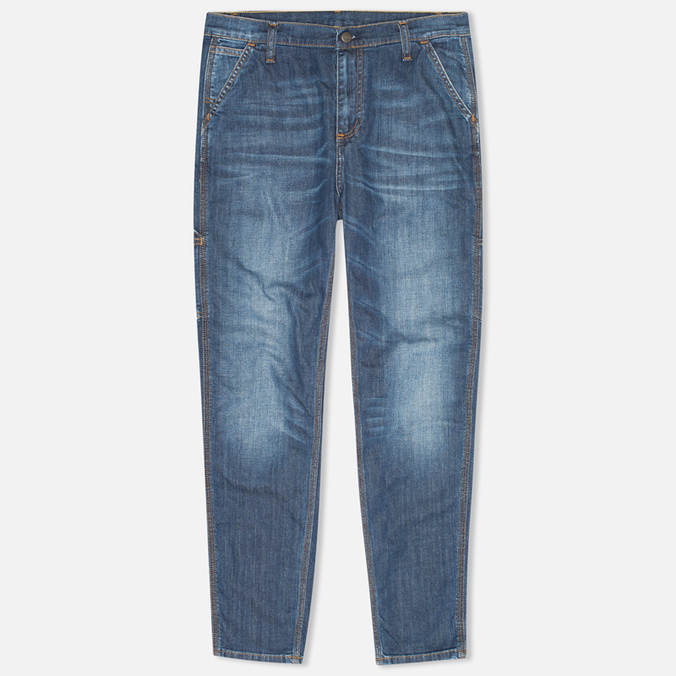 Женские джинсы Carhartt WIP X' Single Knee II Colfax Stretch Blue Strand Washed