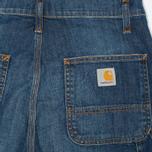 Женские джинсы Carhartt WIP X' Single Knee II Colfax Stretch Blue Strand Washed фото- 1