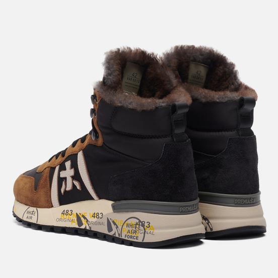 Мужские кроссовки Premiata Jeff 5510 Borwn/Black
