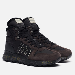 Мужские кроссовки Premiata Jeff 4275 Black/Dark Brown