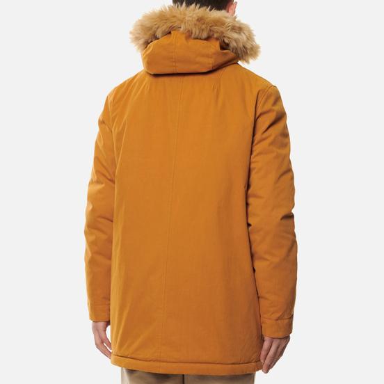 Мужская куртка парка Lyle & Scott Winter Weight Microfleece Lined Caramel