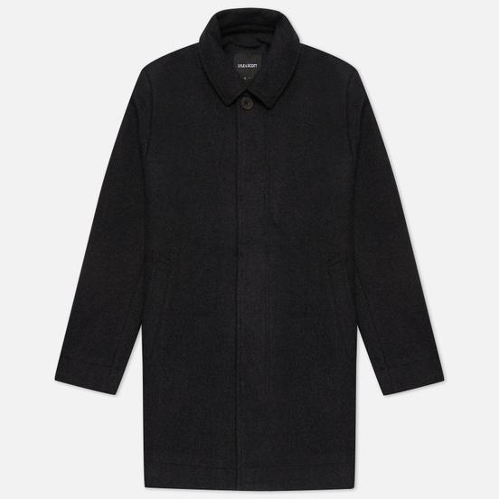 Мужское пальто Lyle & Scott Classic Wool Mac Charcoal Marl