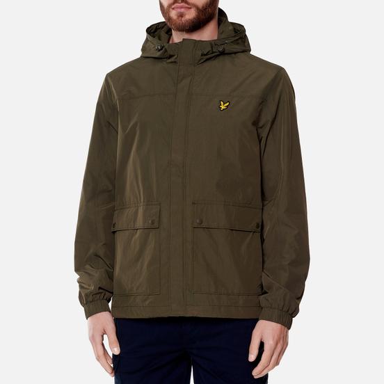 Мужская куртка Lyle & Scott Hooded Pocket Trek Green