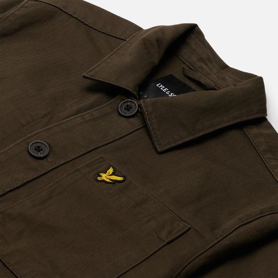 Мужская куртка Lyle & Scott Chore Trek Green