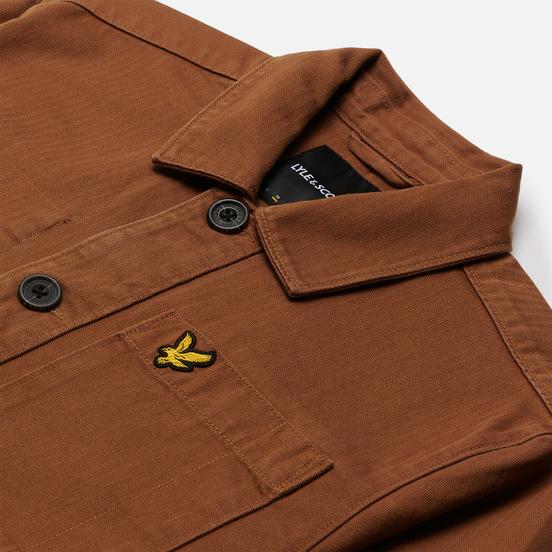 Мужская куртка Lyle & Scott Chore Tawny Brown