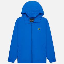 Мужская куртка ветровка Lyle & Scott Zip Through Hooded Bright Cobalt