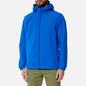Мужская куртка ветровка Lyle & Scott Zip Through Hooded Bright Cobalt фото - 2