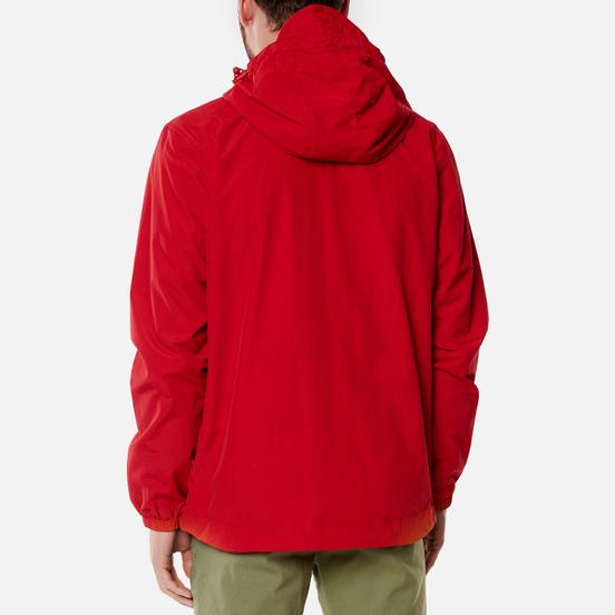 Мужская куртка ветровка Lyle & Scott Zip Through Hooded Gala Red