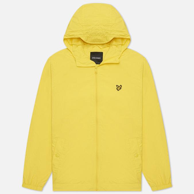 Мужская куртка ветровка Lyle & Scott Zip Through Hooded
