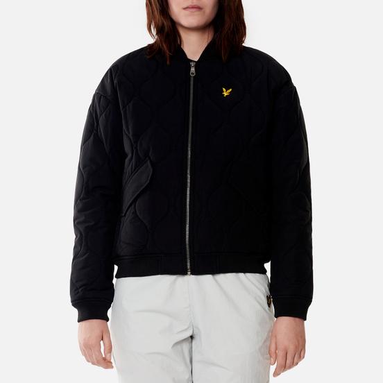 Женская куртка бомбер Lyle & Scott Quilted Jet Black