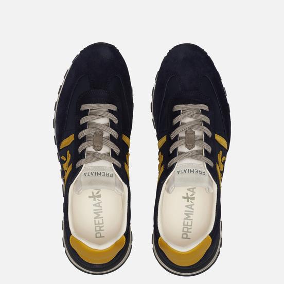 Мужские кроссовки Premiata Johnlow 5065 Dark Navy
