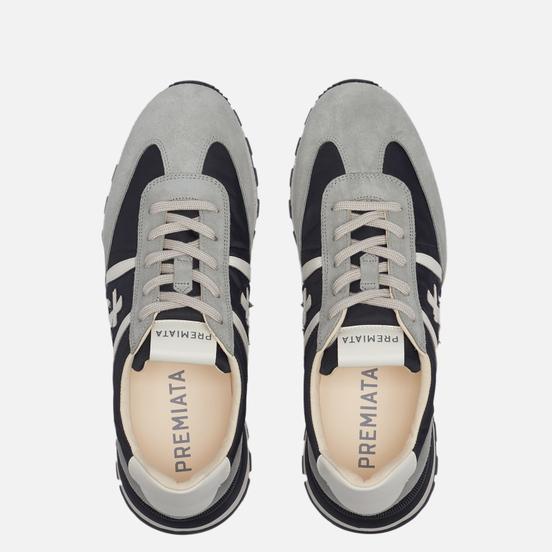Мужские кроссовки Premiata Johnlow 5184 Grey/Black