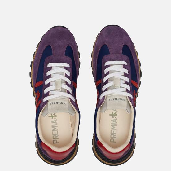 Женские кроссовки Premiata Johnlow-d 5072 Purple