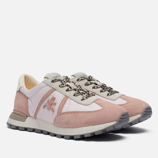 Женские кроссовки Premiata Johnlow-d 5176 Pink