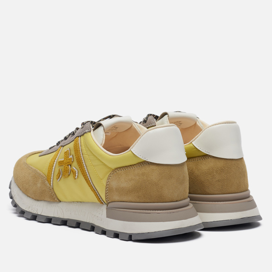 Женские кроссовки Premiata Johnlow-d 5179 Yellow