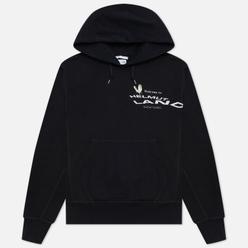 Мужская толстовка Helmut Lang Helmut Land Mascot Standard Hoodie Basalt Black