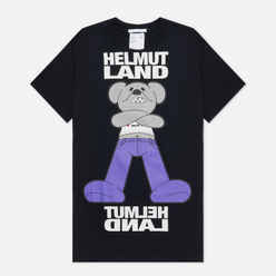 Мужская футболка Helmut Lang Helmut Land Mascot Standard Basalt Black